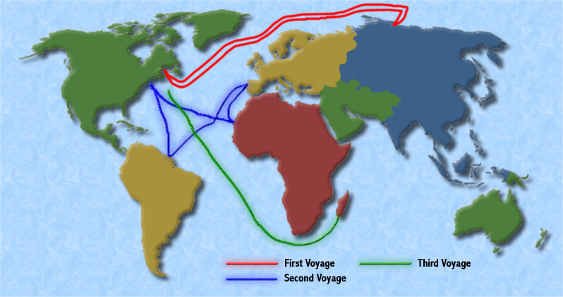 Explorers Who Traveled To The New World
